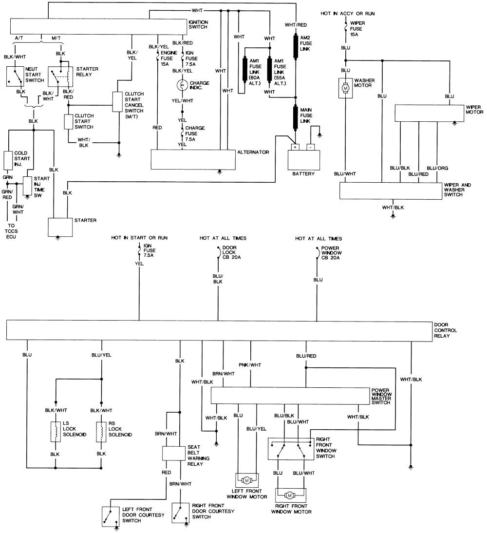 Electrical Diagrammes For Kzn130 Hilux Surf 4runner Forum Diagram 2003 Overall Wiring 1 Autozone